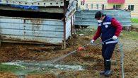 Hatay Büyükşehir Belediyesi haşere ile mücadele çalışmaları