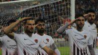 Hatayspor'da Gol Sonrası Asker Selamı