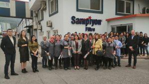 Kadın Avukatlar Fabrika Ziyaretinde