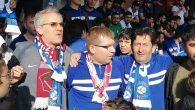 Taraftarlar Arasında Hatayspor-Erzurumspor  Kardeşliği…