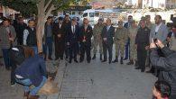Kırıkhan'da Mehmetçik için kurban ve dua