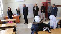 Milli Eğitim Müdürü Karahan, okul denetimlerinde: