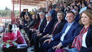 Hatay-Erzurum maçında protokol tribünü dolu