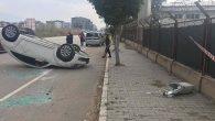 İskenderun kent merkezinde kaza