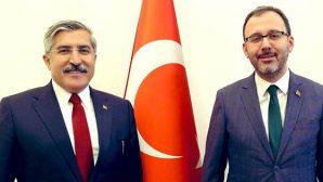 Yayman, Bakan Kasapoğlu ile görüştü, söz aldı: