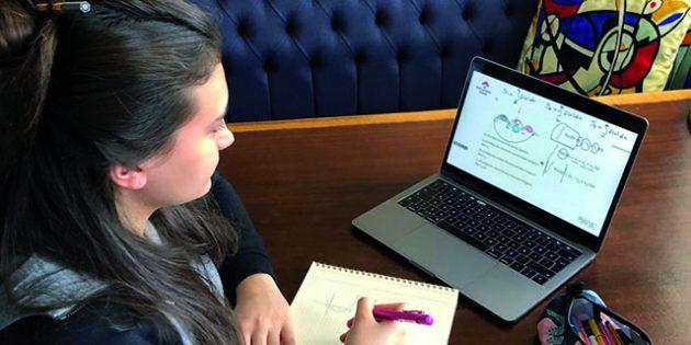 Bahçeşehir Koleji'nde online eğitim çalışmaları