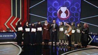 Hz. Ayşe Kız Anadolu İHL Türkiye birincisi oldu