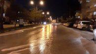 Caddeler Yıkanıyor