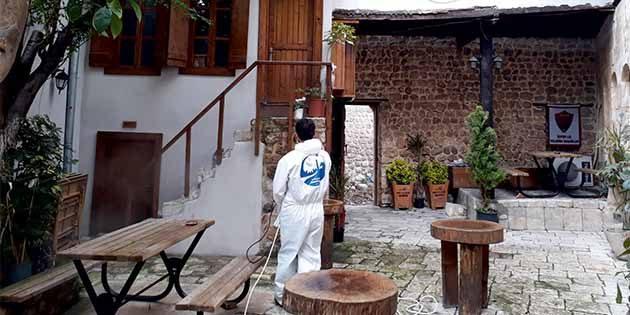 Antakya Belediyesinden koronavirüs tedbirleri