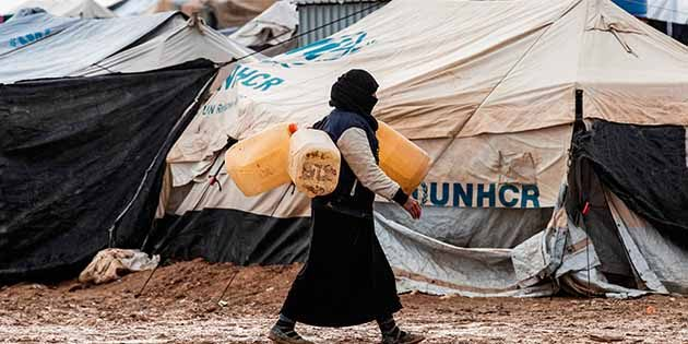 Suriye'nin kuzeyindeyiz Korona'nın nefesinde…