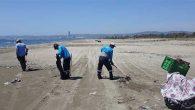 Sahil ve deniz temizliğine başlandı