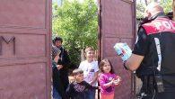 Polis, Küçük Meryem'i Sevindirdi…