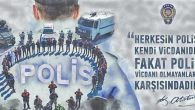 Hatayspor'dan Polis'e Kutlama