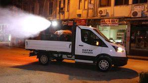 Hatay Büyükşehir Belediyesi'nden küresel salgın tedbirleri