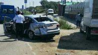 Çevre yolunda kaza: 1 yaralı var