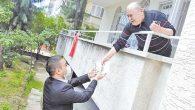 AKP'Lİ gençlerin ziyareti 65 yaş ve üzerilere