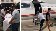 Arabistan'a Ambulans Uçak Gönderildi
