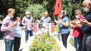 CHP'den Şehitlik Ziyareti