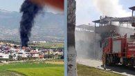 Arsuz-Lagos Sitesi'nde yangın