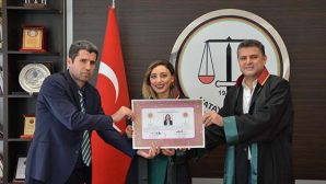 Hatay Barosu'na 2 Yeni Avukat