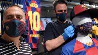 Barselona Kulübü yapmış…