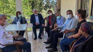 CHP'li 3 Vekilden Eren Yıldırım'a  destek için Ailesine ziyaret