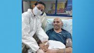 Antakyalı Dr.Yarar,  koronavirüs mücadelesini  kazandı…