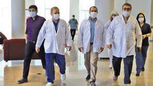 İl Müdürü Hambolat Hastane Denetlemesinde