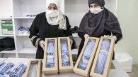 Sağlıkçılar İçin Yıkanabilir Maske Üretiyorlar