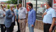 AKP İl Başkanı İlçeleri geziyor