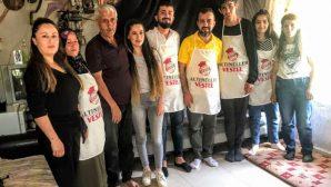 Kaymakam ve Belediye Başkanı'ndan Taha'ya Destek
