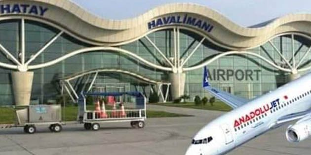 THY Hatay-Ankara uçuşları bugün başlıyor