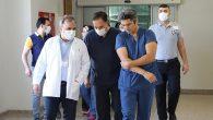 Yoğun Bakım Doktorlarıyla Toplantı