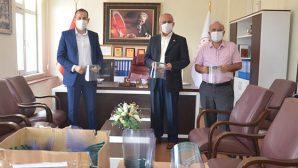 Bilim ve Sanat Merkezi'nden Cezaevine Maske Desteği