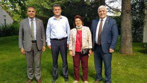 CHP'li vekillerden Dönmez'e ziyaret