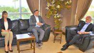 Halk Bankası Müdürü'nden İTSO Yönetimi'ne ziyaret