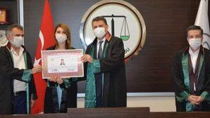 8 Hukuk Mezunu Genç Avukat Oldu