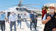 Birlikte helikopter uçuşu sonrası: