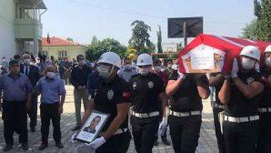 Kaza Kurbanı Hataylı Polis Toprağa Verildi