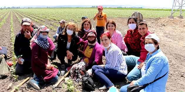 Tarladaki Kadınları da Gezi Annelerini de unutmadı…