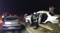 Antakya-Altınözü yolunda kaza