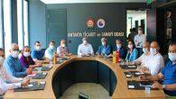 AKP Heyeti Tebriği ATSO'YA
