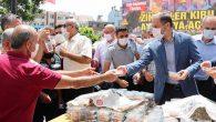 Ayasofya için: AKP'liler lokma dağıttı