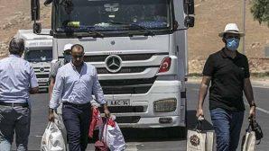 Suriyeliler Güvenli Bölgelere Dönüyor