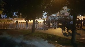 Baro Başkanları Polis Barikatında