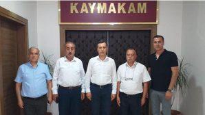 Kaymakam'a Veda Ettiler