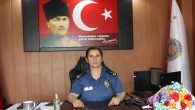 Samandağ'ın ilk kadın Emniyet Müdürü Asuman Karacık göreve başladı: