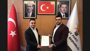 AKP Antakya İlçe Gençlik Kolları Yeni Başkanı