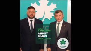 Gelecek Partisi İl Başkanı Ahmet Bilgin…