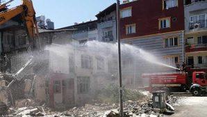 Metruk evler yıktırıldı, halk rahatladı…